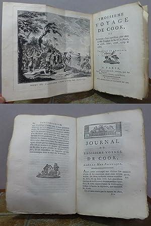 TROISIEME VOYAGE de COOK, ou Journal d'une: RICKMAN, John]. ONCE