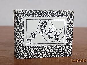 Q.R.V. Signed copy.: GOREY, Edward. Miniature