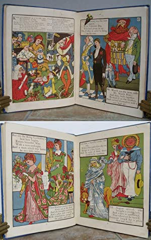 KING LUCKIEBOY'S PICTURE BOOK: King Luckieboy's Party;: CRANE, Walter (illustrator).