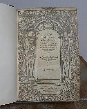 LA GRAUNDE ABRIDGEMENT, COLLECTE & ESCRIE PER: BROOKE, Sir Robert.