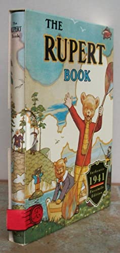 THE RUPERT BOOK. Facsimile of annual for: RUPERT BEAR. Illustrated