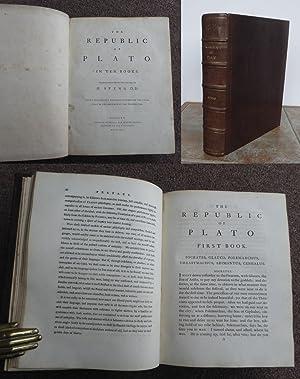 THE REPUBLIC OF PLATO. In Ten Books.: PLATO.