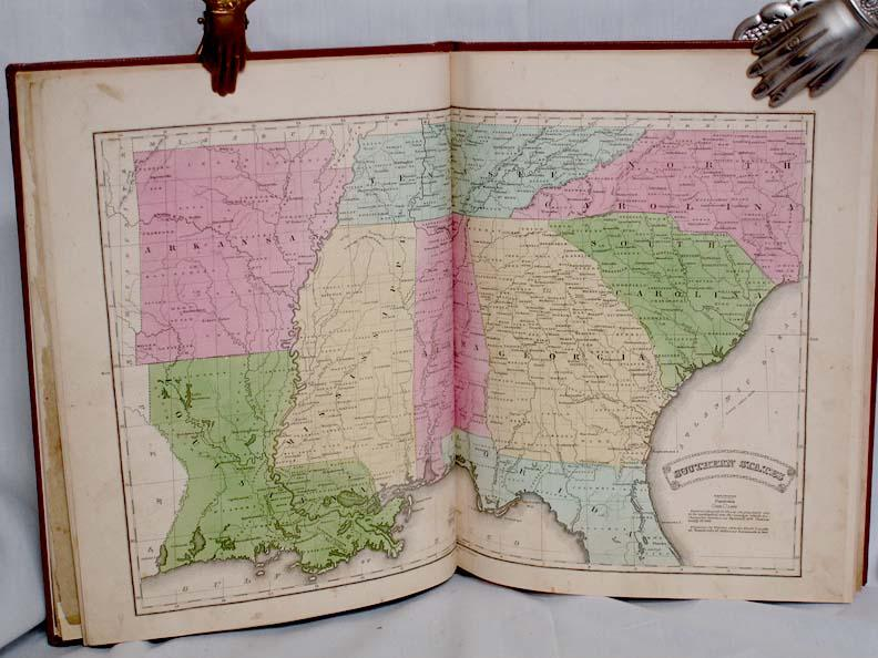 Olney's New and Improved School Atlas to Accompany the Practical System of Modern Geography: ...