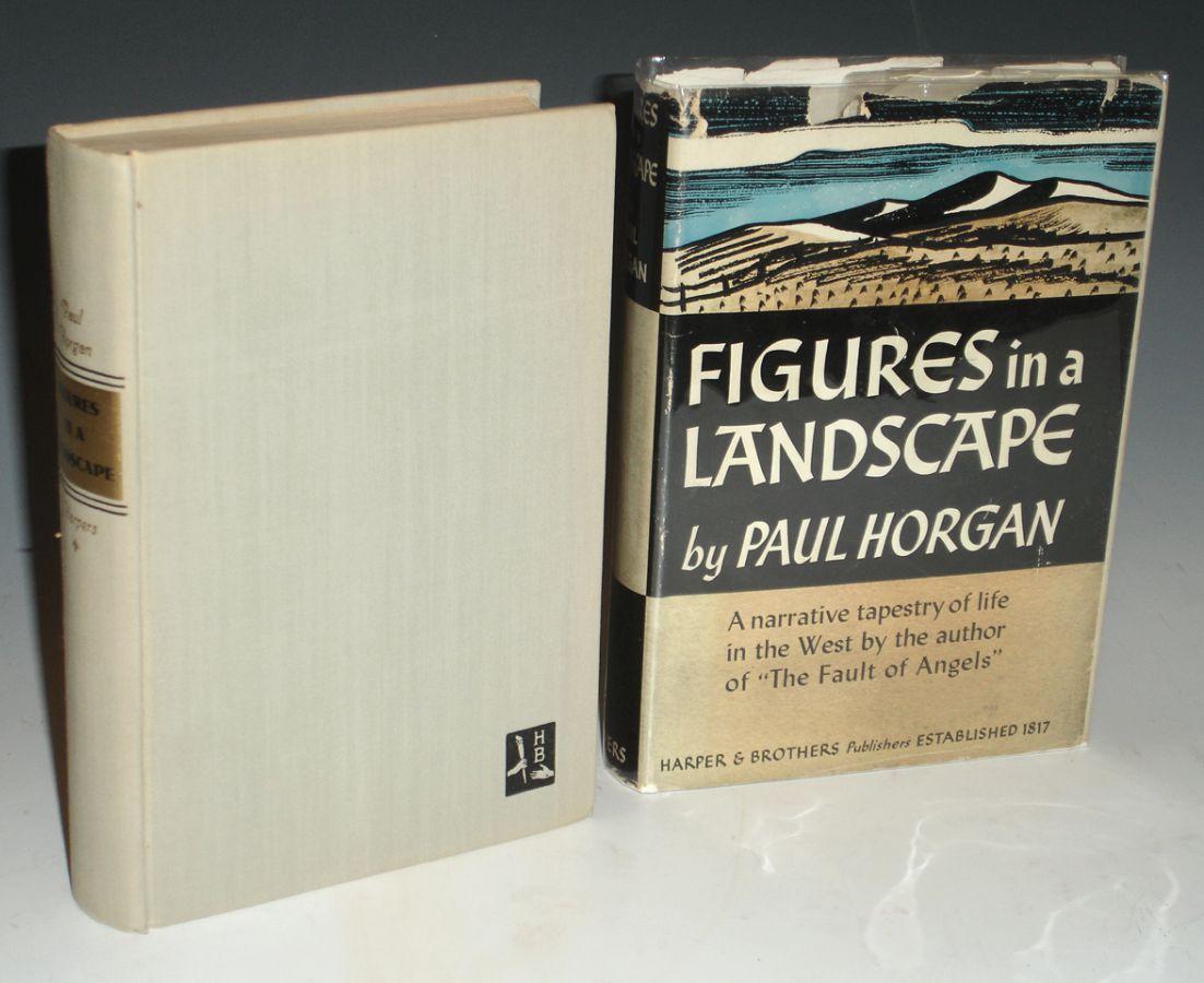 Figures in a Landscape (signed) Horgan. Paul