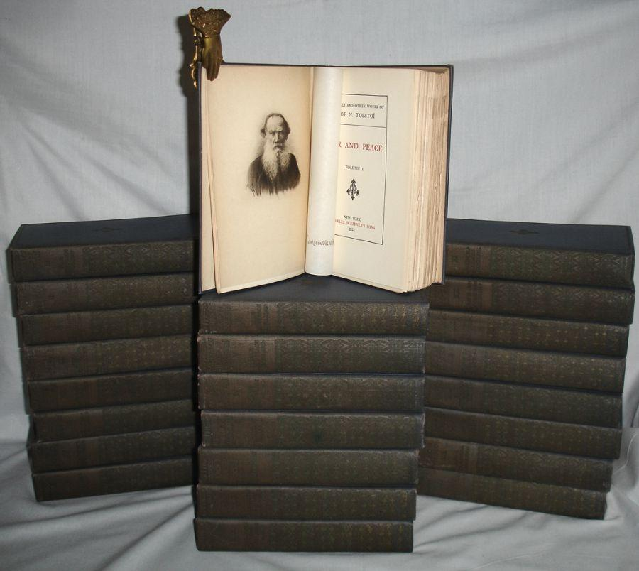 The Novels and Other Works of Lyof n Tolstoi (24 Volume set): Tolstoy, Leo Graf (Tolstoi); Nathan ...