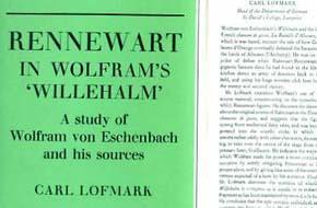 Rennewart in Wolfram's 'Willehalm', a Study of Wolfram Von Eschenbach and His ...