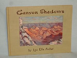 Canyon Shadows: Archer, Lou Ella