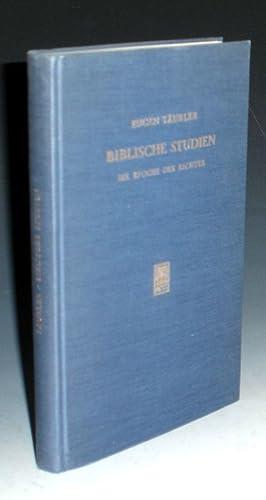 Biblische Studien Die Epoche Der Richter: Taubler, Eugen