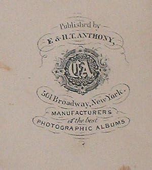 PHOTO ALBUM WITH CARTE-DE-VISTES AND TINTYPES: Grant, Ulysses S.
