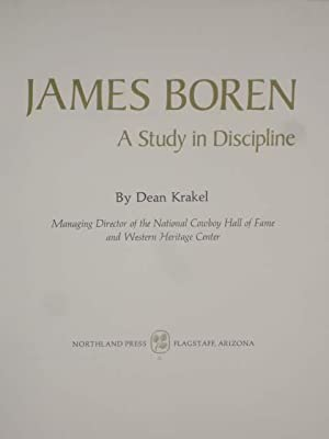 James Boren; a Study in Discipline (6/200) Limited with Original Water Color on Limitation ...