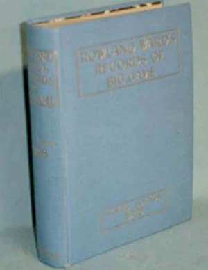 Rowland's Ward's Records of Big Game with: Ward, Rowland (ed.