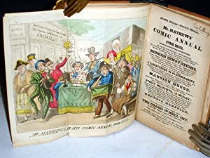Mr. Matthews Comic Annual for 1830 (also 1831,1832, [1833] and Mr. Mathews Memorandum: Peake, ...