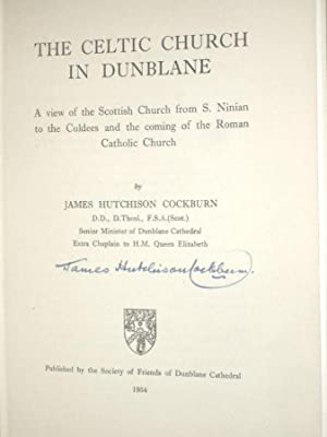 The Celtic Church in Dunblane: Cockburn, James Hutchison