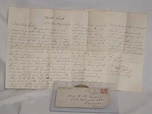 Letter from Hyatt's Camp (Cactus, Arizona), January 24, 1920.: P.H. Montgomery