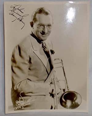 Tommy Dorsey, inscribed Photography