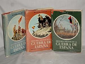 Historia Militar De La Guerra De Espana: Aznar, Manuel