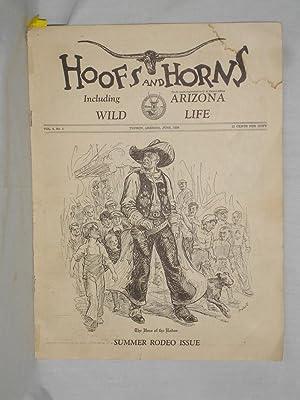 Hoofs and Horns (June, 1936), Vol. 6, No. 1