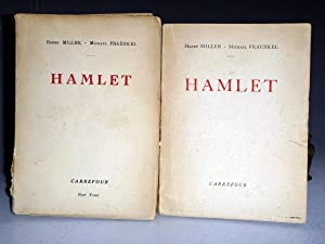Hamlet (2 Volume set), Volume 2 Signed By Henry Miller in Special Clamshell Case