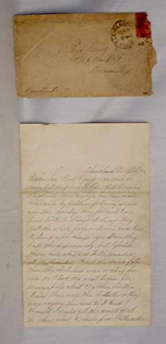3 Page Autographed Letter By a Criminal Evading the Pinkertons: Hesse, Gus