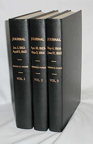 Journal, Jan. 1-1862-June 17, 1865 (3 Vol set): Patrick, Mesena R. [Rudolph}