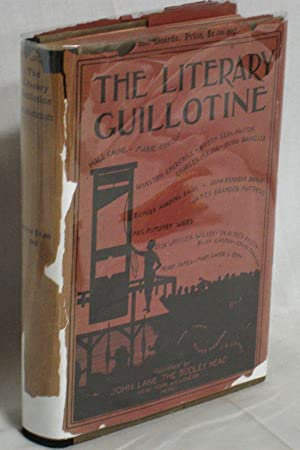 The Literary Guillotine. The Bench: Twain, Mark, Oliver Herford and C.B. Loomis]: Whitelock, ...