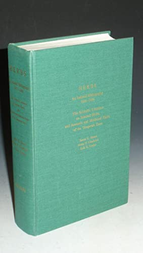 Herbs: An Indexed Bibliography 1971-1980 the Scientific Literature on Selected Herbs, and Aromatic ...
