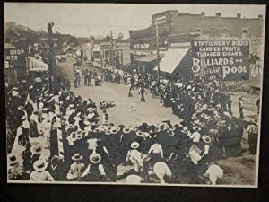 Original Photograph of a Territorial Williams Arizona Fourth of July Celebration With Staged ...