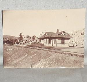 P & E (Prescott and Eastern) Junction, Original Photograph