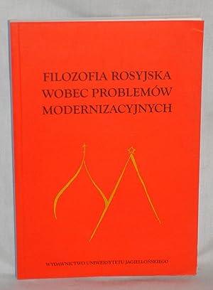 Filozofia Rosyjska Wobec Problemow Modernizacyjnych: Rydzewskiego, Wlodzimierza