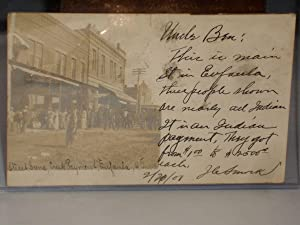 Photograph Postcard) Creek Indians, Eufaula, Indian Territory, 1907