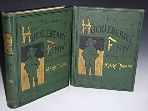 Adventures of Huckleberry Finn and Publisher's Salesman's: Twain, Mark (Samuel