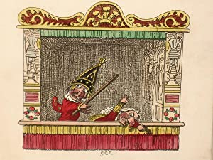Punch and Judy: Cruikshank, George and Sir Walter Scott