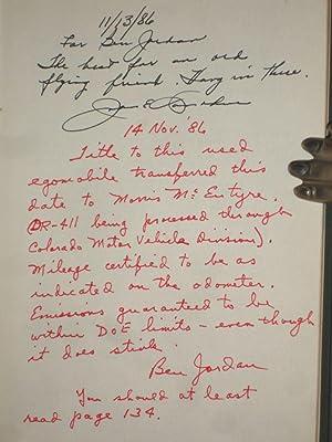 Cedarbark, Juniper and Other Recollections (An Autobiography): Donohue, John E.