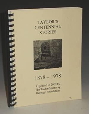 Taylor's Centennial Stories, 1878-1978: Tenney, Jocie B.