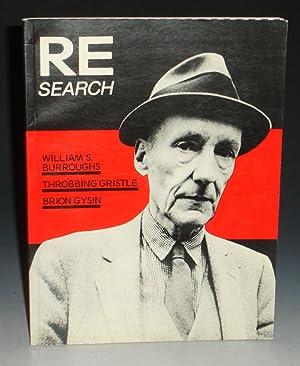 RE/Search #4/5: William S. Burroughs, Brion Gysin: Burroughs, William S.