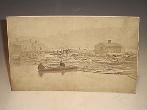 Maysville, Kentucky Flood, Photograph February, 1884: Kackley, J[ames] T.