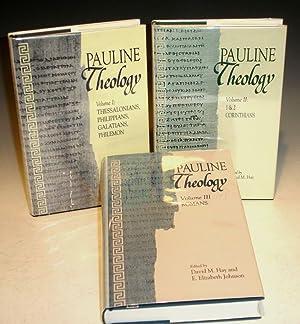 Pauline Theology, Vol. I-III: Bassler, Jouette; David M. Hay; E. Elizabeth Johnson, et al.