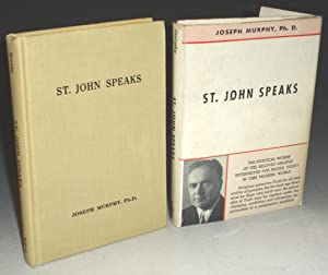 St. John Speaks, Signed by the Author