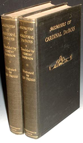 Memoirs of Cardinal Dubois