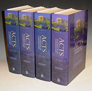 Acts: An Exegetical Commentary, 4 Volume Set