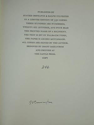 Dickinson: Lyric and Legend: Cunningham, J. V.