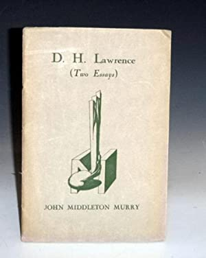 D.H. Lawrence (Two Essays)