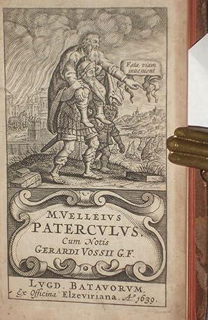 M. Velleius Paterculus Cum;notis Gerardi Vossili: Paterculus, Vellenius, Ca 19 B.C.-Ca. 30 A.D.