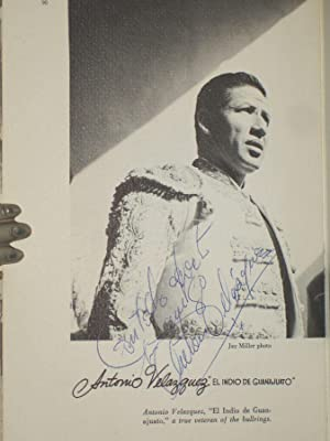 Matadors of Mexico (Signed By the Author and Five of the Great Matadors, Including: Miller, Ann ...