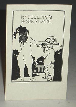 Bookplate Designed By Aubrey Beardsley