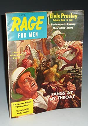 """There's Nothing Bad About Rock-N-Roll"""" in Rage for Men (February, 1957), Vol. I, No. 2: ..."""