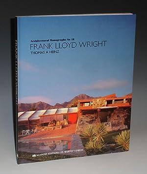 Frank Lloyd Wright (Architectural Monographs, No. 18): Heinz, Thomas A.