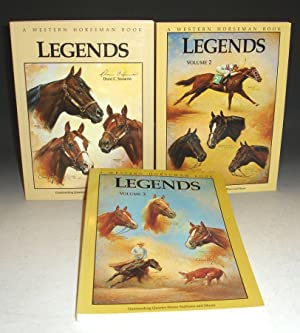Legends: Outstanding Quarter Horse Stallions and Mares, in 3 Volumes: Simmons, Diane C., With Pat ...