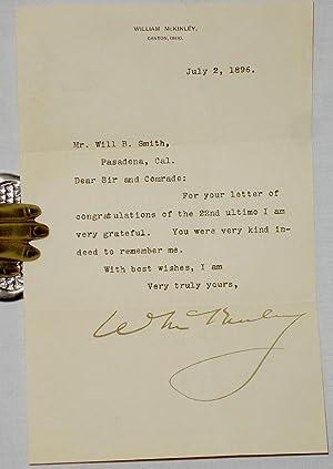 ALS: McKinley, William (Future President)