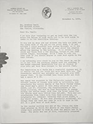 A Rare 3 Page TLS Letter from John A. Klemann, the Organizer of the International Philatellic ...